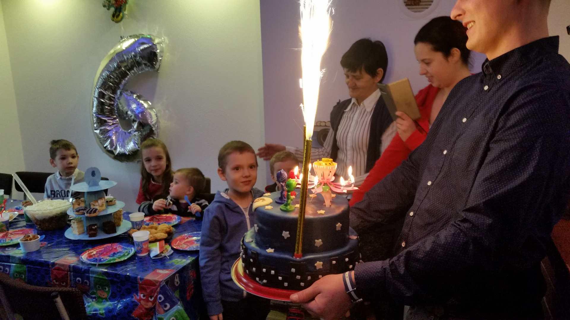 Urodziny dla dzieci z czarodziejem Minigolf Kraków